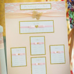 Glitter Table Plan Prices from £55.00
