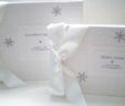 Winter Wedding Snowflake Guest Book & Album