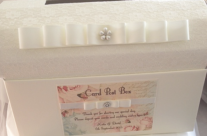 Shabby Rose Card Post Box