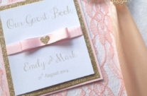 The Glitter Collection Guest Book