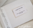 Glitter and Diamante Stars Guest Book