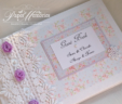 Cottage Rose Guest Book