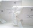 Winter Wedding Snowflake Guest Book & Album