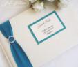 Pearl & Diamante Guest Book