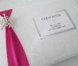 Snowflake Diamante Guest Book